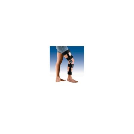 Ortesis de rodilla con articulación de flexoextensión y bloqueo Airlock 2 Bandas