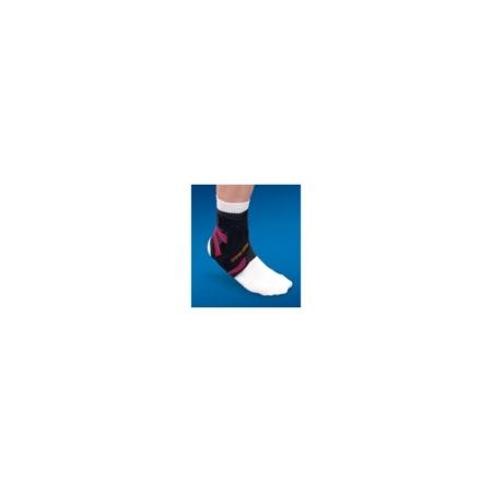 Alttex- Tobillera con férula estabilizadora medio-lateral para la pierna izquierda