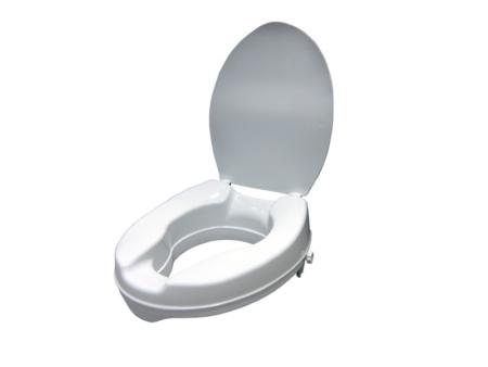 Elevador con tapa de wc de 10 cm.