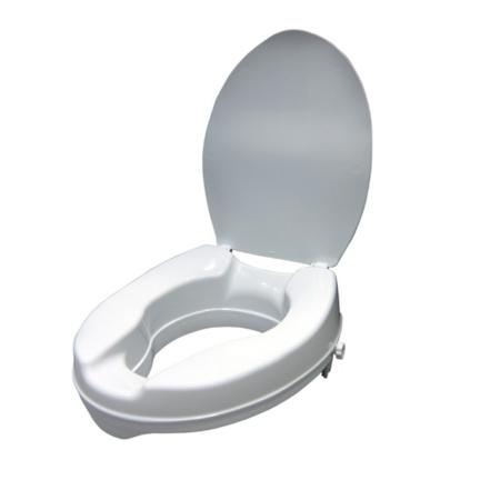 Elevador con tapa de wc de 15 cm.