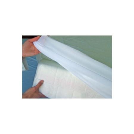 Protector impermeable de rizo de cama de 90